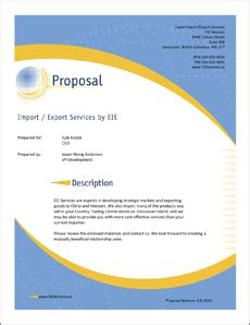Writing a Business Proposal Letter - Sample Letters